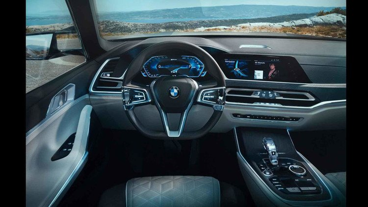 BMW X7 iPerformance Cabin