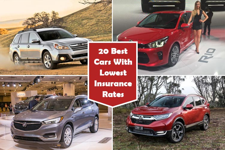 Cars With Lowest Insurance Rates