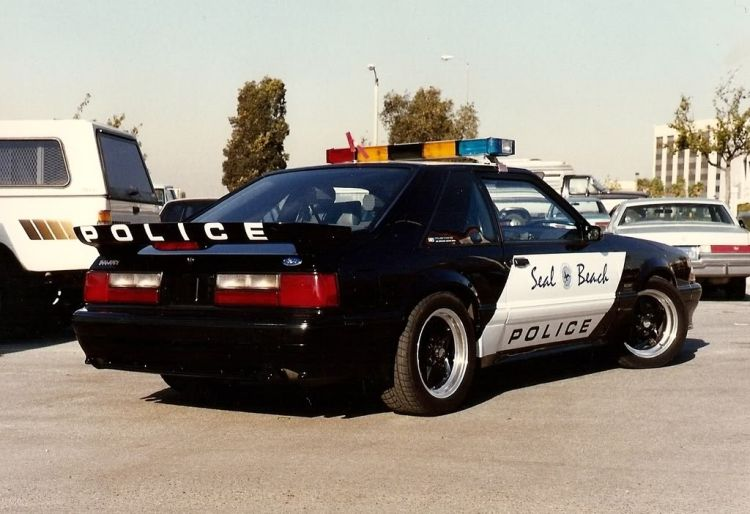 United States Police Cars