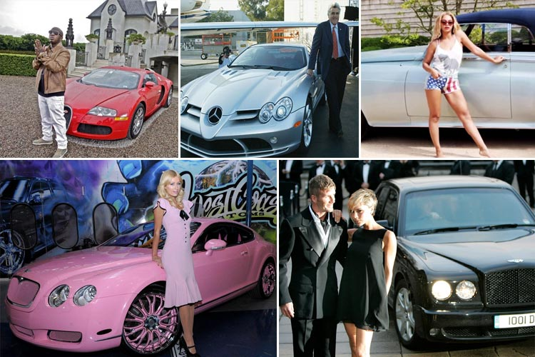 Luxurious Celebrity Cars