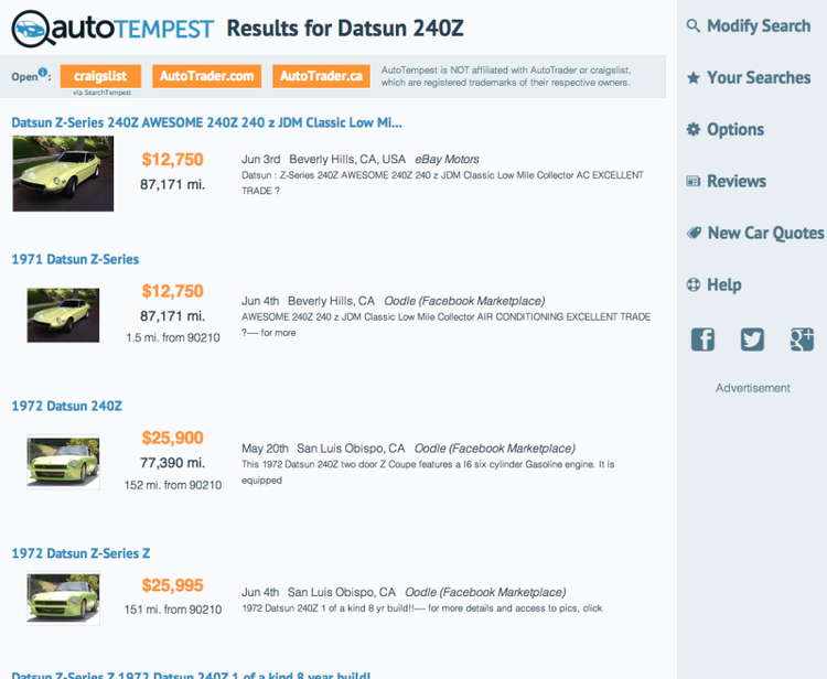 Places to Buy Cars Online