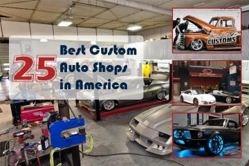Custom Auto Shops in America