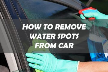 Remove Water Spots from Car