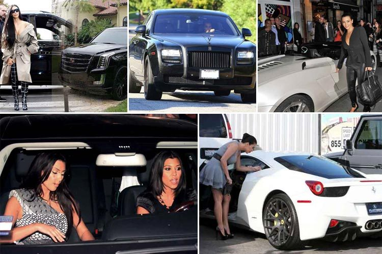 21 luxurious cars in kim kardashian cars collection | cars techie
