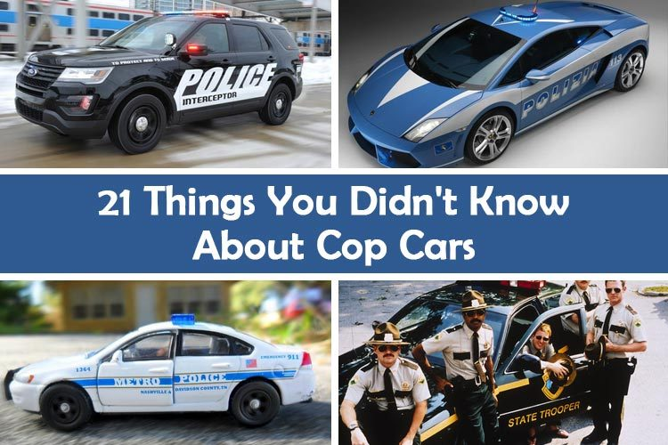 21 things you didn t know about cop cars cars techie