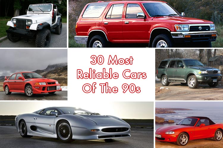 Most Reliable Cars Of The 90s