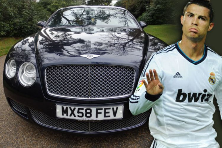 Cristiano Ronaldo Car Collection