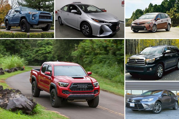 18 Best Toyota Cars