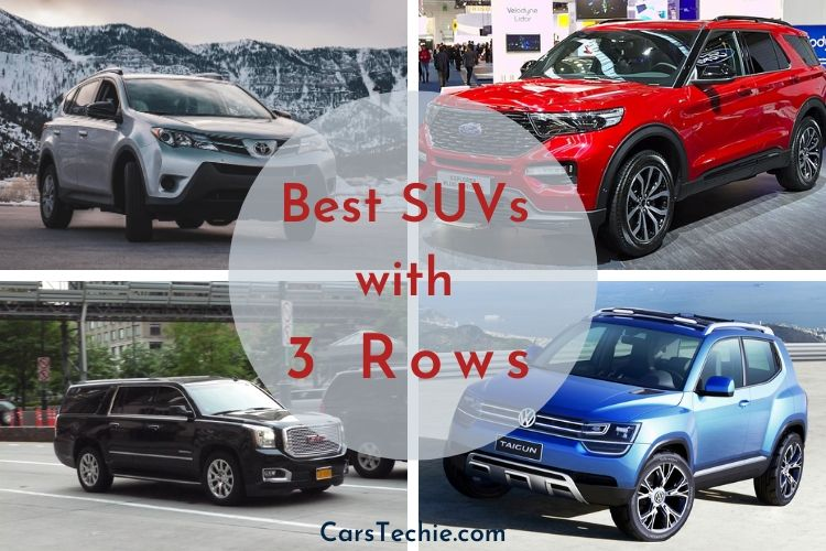 Best SUVs with 3 Rows